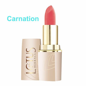 Lotus Herbals Pure Colors Lip Color-All Shade(All Skin Types) For Women- 640 Carnation