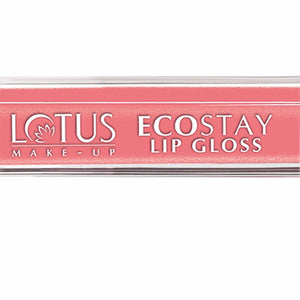 Brand New Lotus Herbals Ecostay Lip Gloss-8 Gms. - Peach Pink