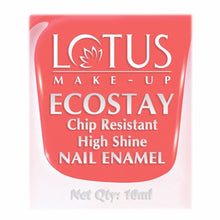 Lotus Herbals Ecostay Nail Enamel- 10 ml- Peach Glory