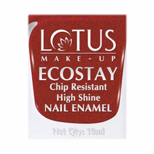 Lotus Herbals Ecostay Nail Enamel- 10 ml- Shiny Dawn