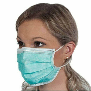 Disposable Face Mask 50 Pieces (Color May Vary)