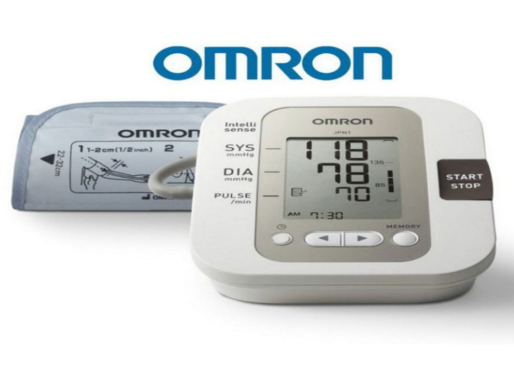 Automatic M3 Digital Upper Arm Blood Pressure Monitor With Case - Omron HEM-7200