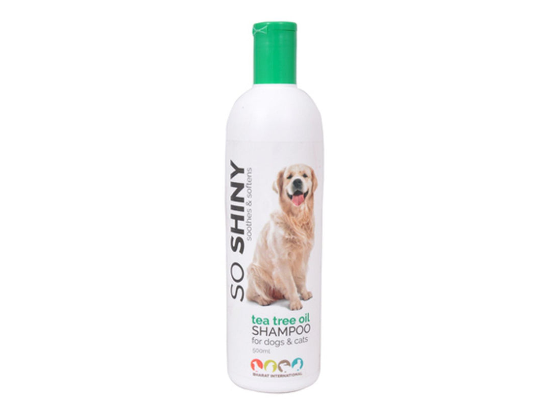 Pet Care Tea Tree Oil So Shiny Shampoo For Dogs & Cats- 500ml