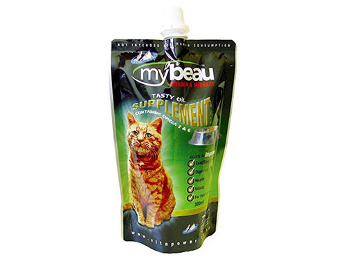 Pet Care My Beau Tasty Oil Supplement for Cats- 300ml