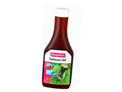 Pet Care Beaphar Salmon Oil Supplement- 425ml