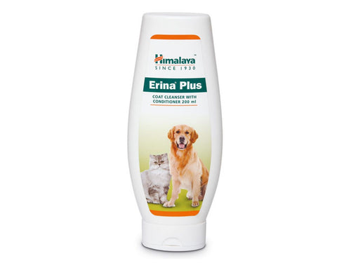 Pet Care Himalaya Erina Plus Coat Cleanser with Conditioner- 200ml