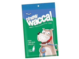 Pet Care Drools Chewwacca Milk Flavour - Real Chicken Sticks, Dog Treats- 100gm
