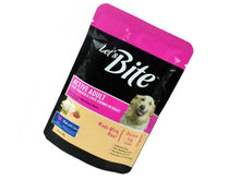 Pet Care Let's Bite Real Chicken and Liver Chunks in Gravy for Adult Dog- 80gm