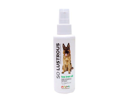 Pet Care Tea Tree Oil So Lustrous Grooming Spray For Dogs & Cats- 100ml Available