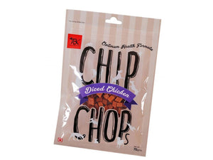 Pet Care Chip Chops Diced Chicken- 70gm Available