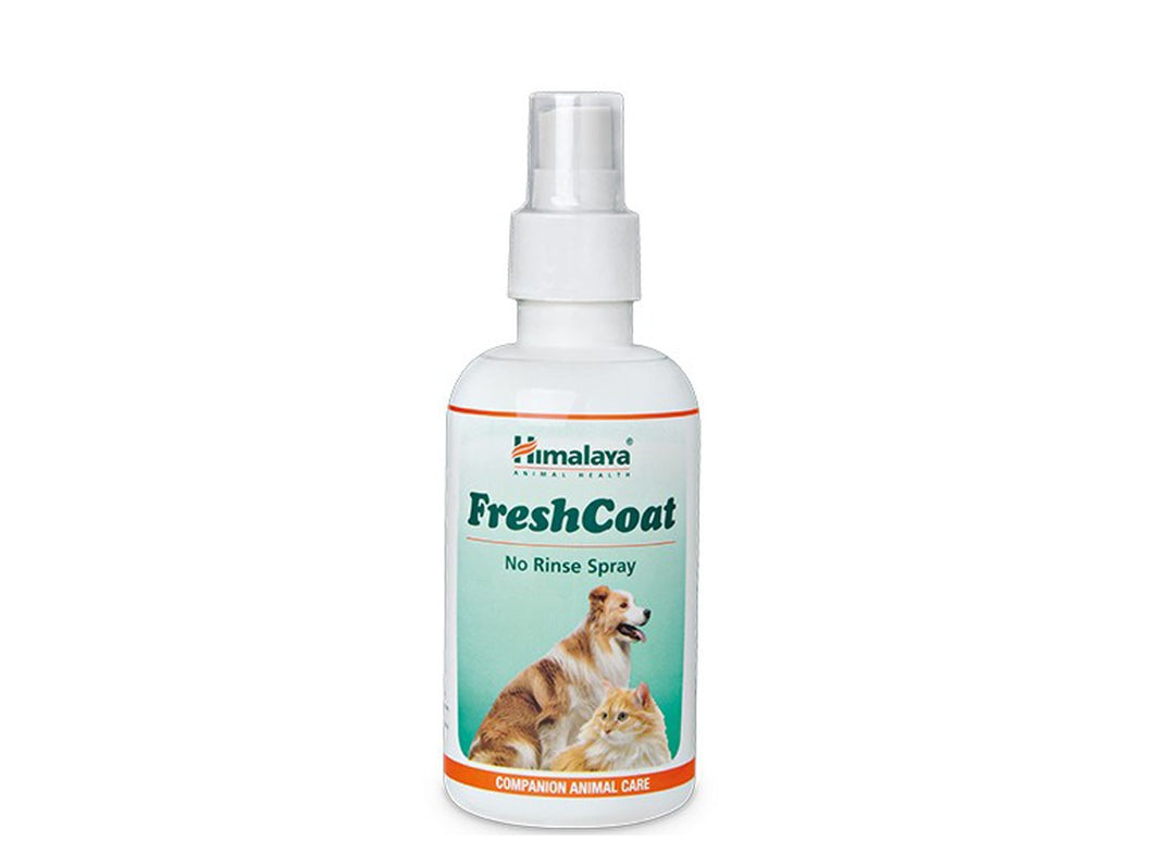 Pet Care Himalaya FreshCoat No Rinse Spray- 400ml Available