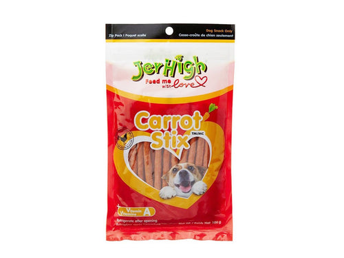 Pet Care JerHigh Carrot Stix Dog Treats- 100gm Available
