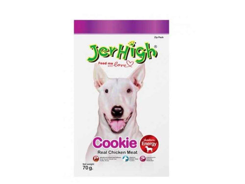 Pet Care JerHigh Cookie Dog Treats- 70gm Available