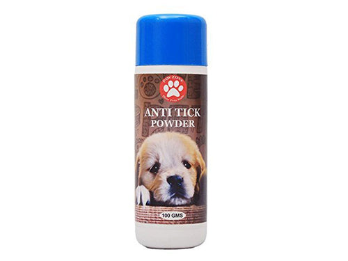 Pet Care Pawzone Anti Tick Powder For Pets- 100gm Available