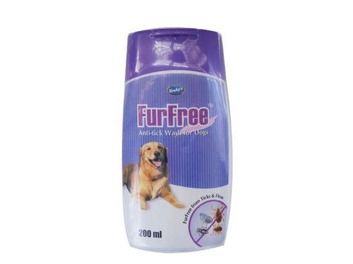 Pet Care Venky's Furfree Anti Tick Wash For Pets- 200ml Available