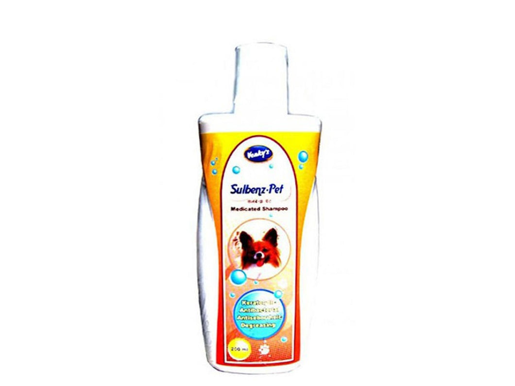 Pet Care Venky's Sulbenz Pet Shampoo- 200ml Available