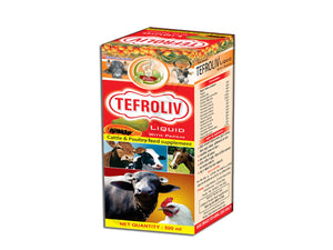 Pet Care Basic Ayurveda Tefroliv Liquid Pack of 2 - 500ml Available