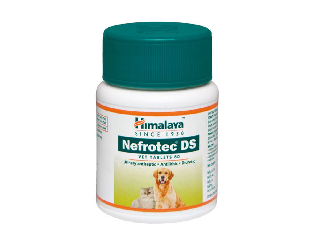 Pet Care Himalaya Nefrotec DS Vet Tablet- 60 Tablets Available