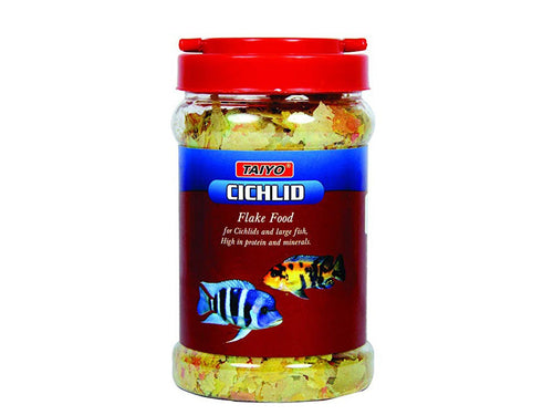 Pet Care Taiyo Cichlid Flakes Fish Food- 100gm Available