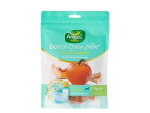 Pet Care Happi Doggy Dental Chew Plus Dog Treats - Pumpkin & Mountain Yam- 150gms Available