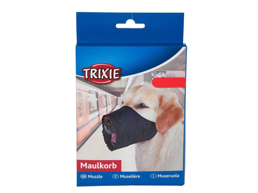 Pet Care Trixie Polyester Muzzle for Dogs- L-XL Available