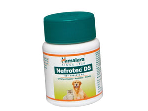 Pet Care Himalaya Nefrotech DS Vet-Antilithic, Diuretic and Urinary Antiseptic- 60 tabs