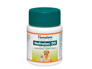 Pet Care Himalaya Nefrotech DS Vet-Antilithic, Diuretic and Urinary Antiseptic- 60 tabs Available