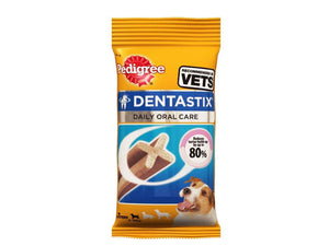 Pet Care Pedigree Dentastix Weekly Pack - Small - 110 gms Available