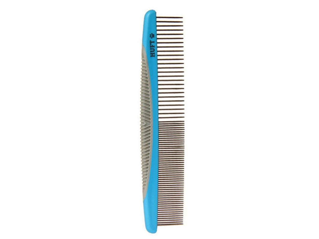 Pet Care HUFT Narrow & Wide Tooth Steel Comb for Pets- Available