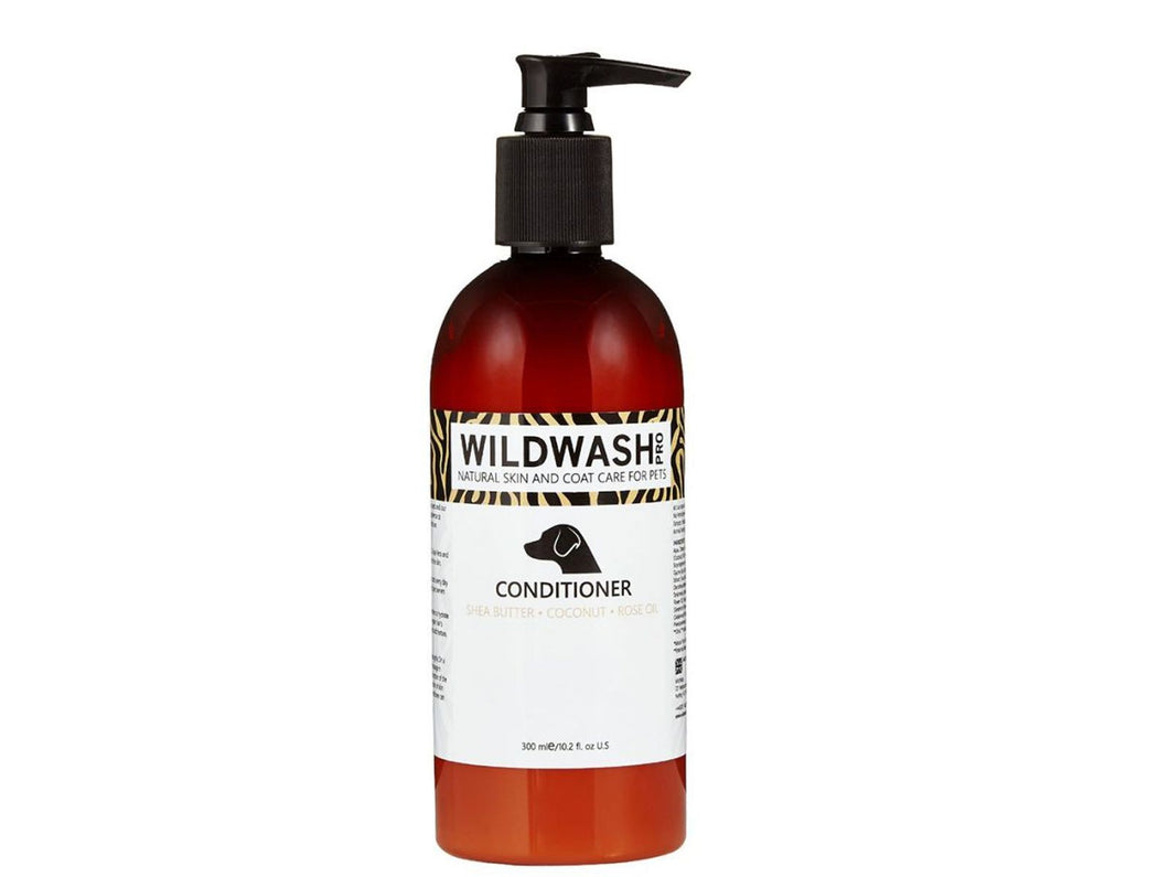 Pet Care WildWash Conditioner - Shea Butter, Coconut & Rose Oil- 300ml Available