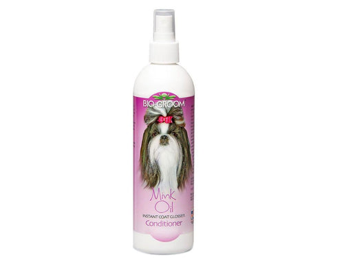 Pet Care Bio-Groom Mink Oil Conditioner Spray for Dogs - 355 ml Available