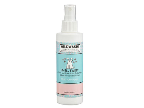 Pet Care WildWash Smell Sweet - Scent and Shine Spritz for Dogs - 150ml Available
