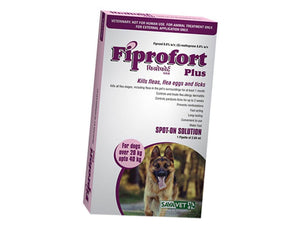 Pet Care Fiprofort Plus Spot-On Solution For Large Dogs- 2.68 ml
