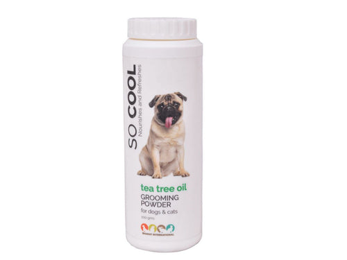 Pet Care BI So Cool Grooming Powder with Tea Tree Oil - 100 gms Available