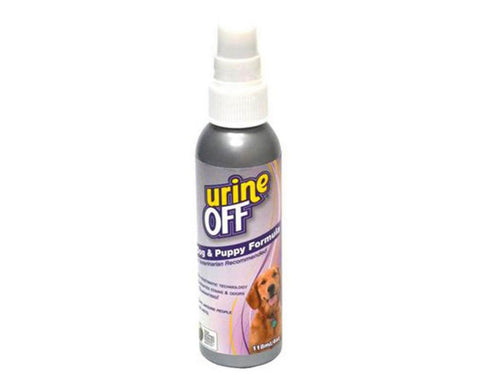 Pet Care Urine Off Dog & Puppy Formula Odour and Stain Remover Sprayer - 118ml Available