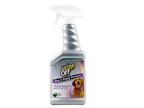 Pet Care Urine Off Dog & Puppy Formula Odour and Stain Remover Sprayer - 500ml Available