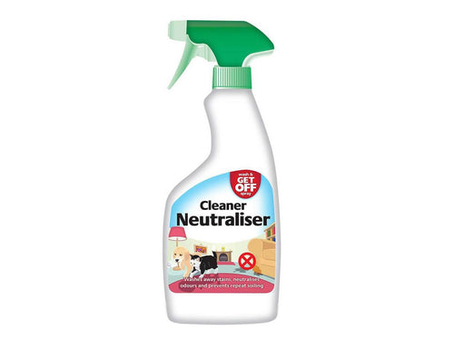 Pet Care Get Off Cleaner Neutraliser Spray- 500ml Available
