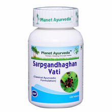 Planet Ayurveda's Sarpgandhaghan Vati Pills (120) Helps to Blood Pressure Available