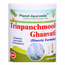 Support Planet Ayurveda's Trinpanchmool Ghan Vati - (120 Tablets Each) kidneys