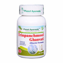 Support Planet Ayurveda's Trinpanchmool Ghan Vati - (120 Tablets Each) kidneys Available