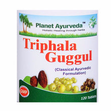 Planet Ayurveda's Triphala Guggul Pills (120) For Healthy Cholesterol Level