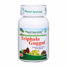 Planet Ayurveda's Triphala Guggul Pills (120) For Healthy Cholesterol Level Available