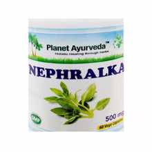 Planet Ayurveda Nephralka Capsules - 60 Capsules 500mg -Kidney dysfunction