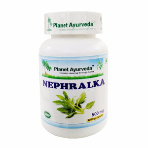 Planet Ayurveda Nephralka Capsules - 60 Capsules 500mg -Kidney dysfunction Available