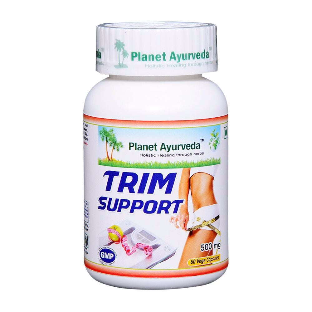 Planet Ayurveda's Trim Support Capsules (60)-It Supports Healthy Digestion. Available