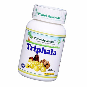 Planet Ayurveda's Triphala Capsules (60) For Nutrition To The Whole Body