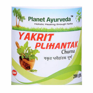 Planet Ayurveda Yakrit Plihantak Powder - Liver Detox For Good Cholesterol Level