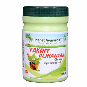 Planet Ayurveda Yakrit Plihantak Powder - Liver Detox For Good Cholesterol Level Available