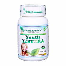 Planet Ayurveda Youth Restora Capsules (60) Maintain The Healthy Youth 150Gm Available