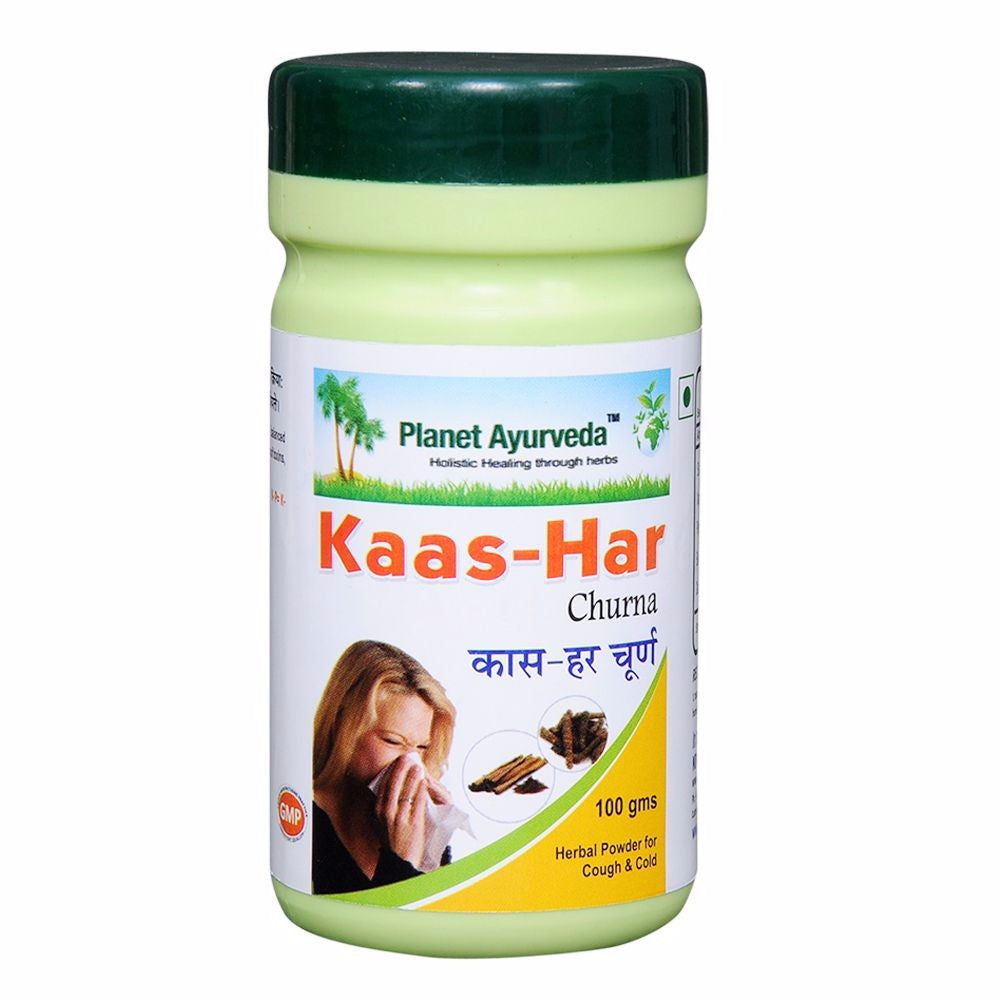 Planet Ayurveda Kaas-Har Powder Useful For Cough And Cold 100 Gm Available